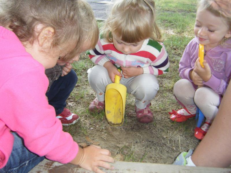 Kis Gombák ismerkedése az óvodával