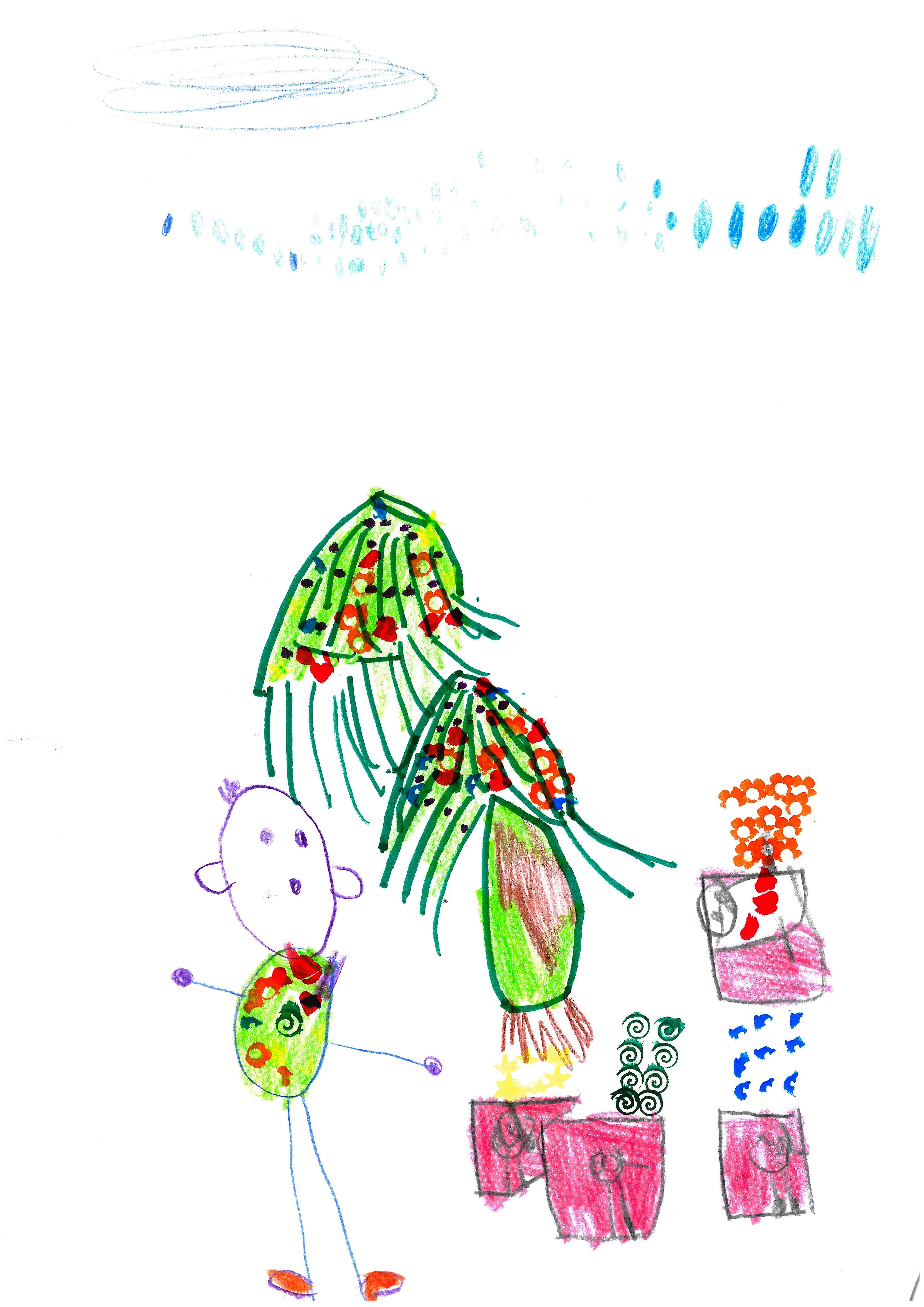 Béres Bettina 4 éves