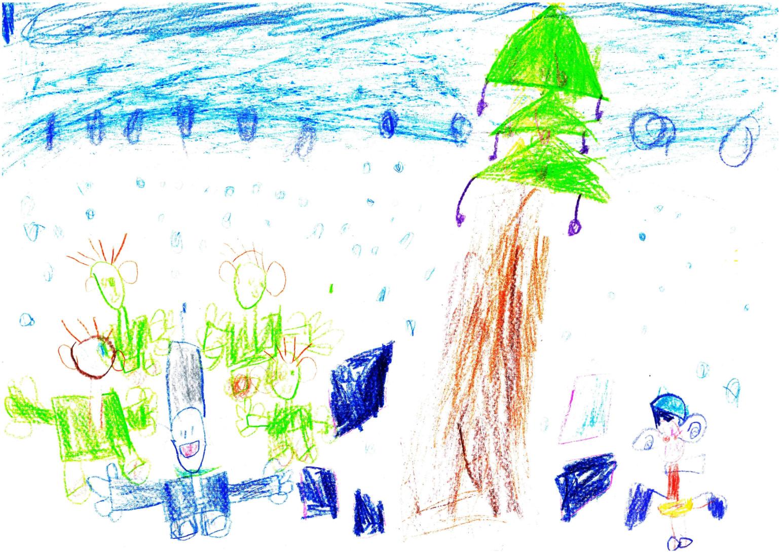 Ljasko Noel 6 éves