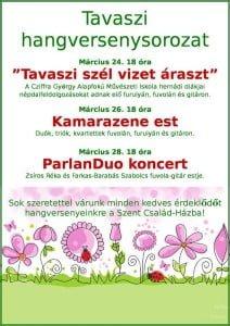 ParlanDuo koncert @ Szent Család-Ház | Hernád | Pest | Magyarország