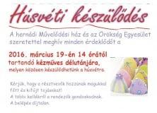 Thumbnail for the post titled: Húsvéti készülődés