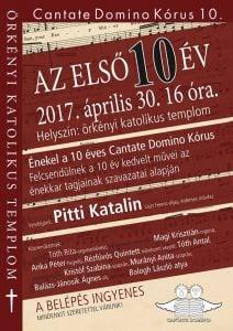 A Cantate Domino Kórus Hangversenye @ Római Katolikus Templom   Örkény   Magyarország