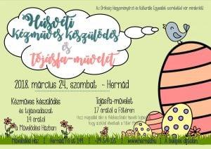 Húsvéti kézműves készülődés @ Művelődési Ház átriuma | Hernád | Magyarország