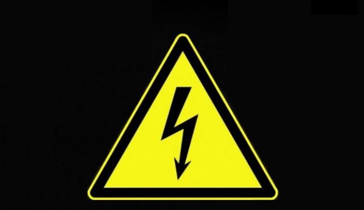 Értesítés áramszünetről