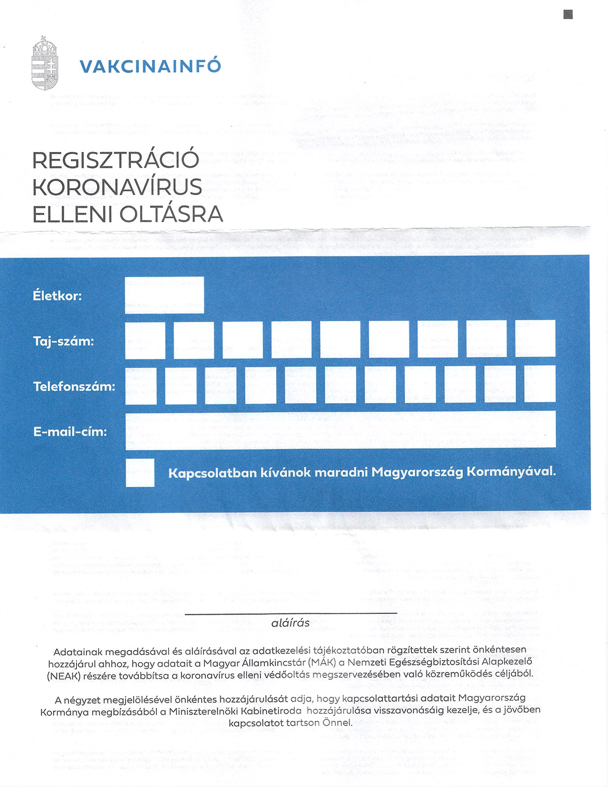 Segítséget nyújtunk az oltás-regisztrációhoz