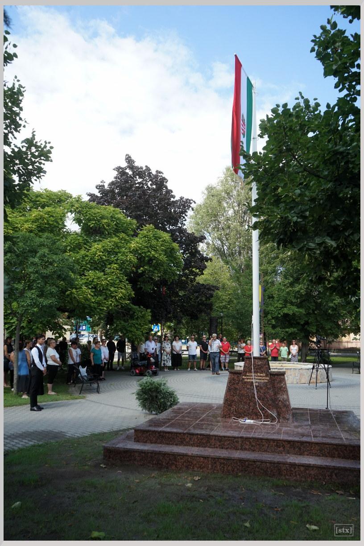 Augusztus 20-án felavattuk a hernádi Országzászló Emlékművet
